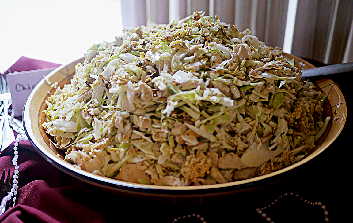 Hilary's Chinese Chicken Salad »• Karney Family Recipes